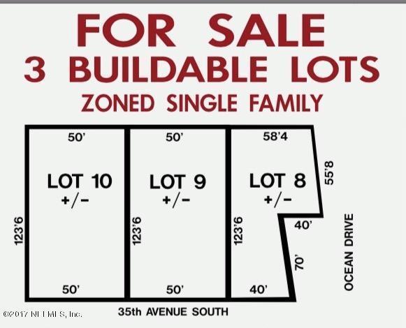 39 35TH Ave S, Jacksonville Beach, FL 32250 (MLS #866402) :: CenterBeam Real Estate