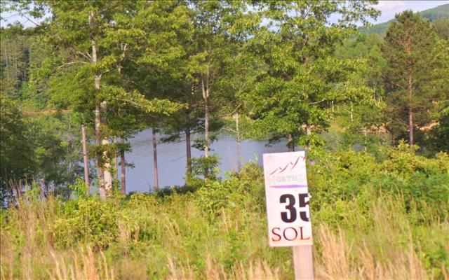 LT 35 Northshore, Blairsville, GA 30512 (MLS #268849) :: RE/MAX Town & Country
