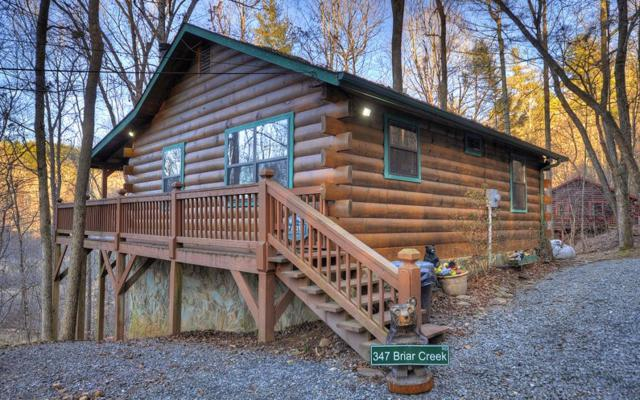 347 Briar Creek Road, Ellijay, GA 30540 (MLS #275083) :: RE/MAX Town & Country