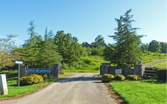 LT 8 High Meadows, Morganton, GA 30560 (MLS #284385) :: RE/MAX Town & Country