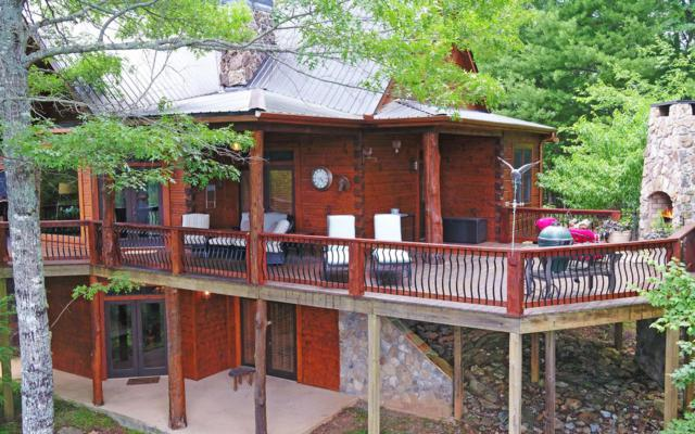 80 Golden Eagle Point, Suches, GA 30572 (MLS #289294) :: RE/MAX Town & Country