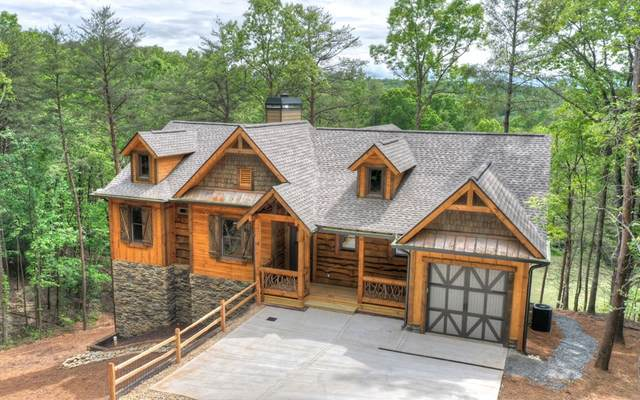 524 Choctaw Dr, Ellijay, GA 30540 (MLS #297523) :: RE/MAX Town & Country