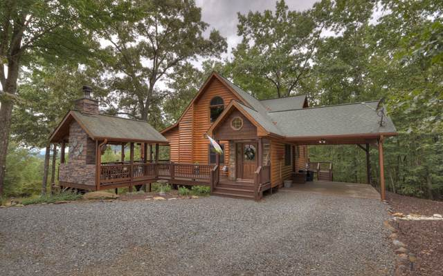 671 Happy Trails Lane, Mineral Bluff, GA 30559 (MLS #291455) :: RE/MAX Town & Country