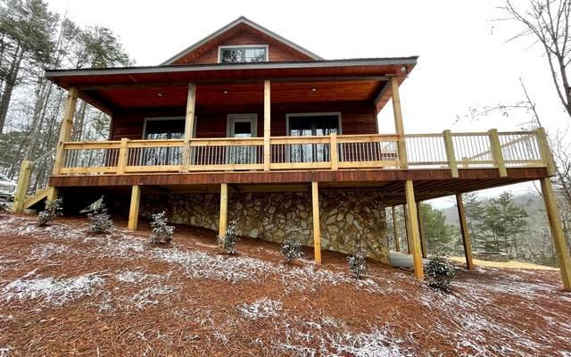 26 Wolf Creek Drive, Mineral Bluff, GA 30559 (MLS #304207) :: Path & Post Real Estate
