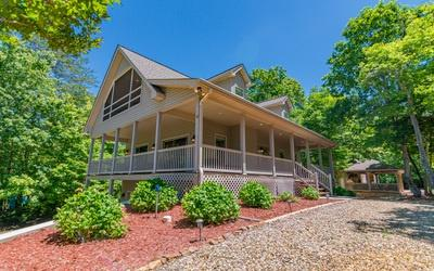 62 W Whispering Pines, Blairsville, GA 30512 (MLS #288646) :: RE/MAX Town & Country
