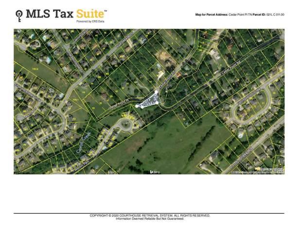Tbd Cedar Point Place Place, Johnson City, TN 37615 (MLS #9904066) :: The Baxter-Milhorn Group