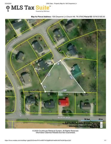 108 Cheyenne Lane, Church Hill, TN 37642 (MLS #9906343) :: Tim Stout Group Tri-Cities