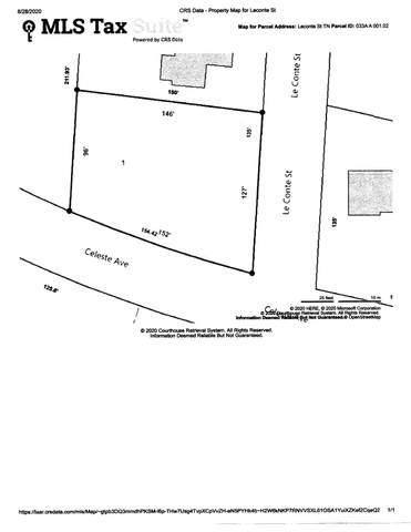 - Le Conte Street, Morristown, TN 37814 (MLS #9912515) :: Bridge Pointe Real Estate