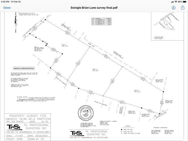 Tbd North Main And Brian Lane, Erwin, TN 37650 (MLS #9918560) :: Red Door Agency, LLC
