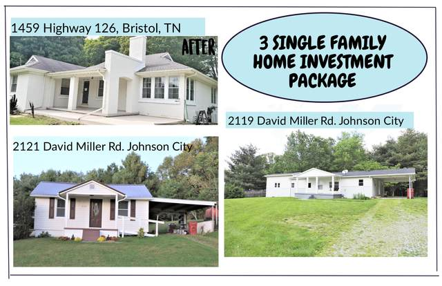 3 Single Family Homes, Johnson City, TN 37604 (MLS #9925698) :: Tim Stout Group Tri-Cities
