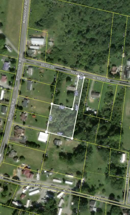 Lot 7 Hicks Drive, Gray, TN 37615 (MLS #9910151) :: Bridge Pointe Real Estate