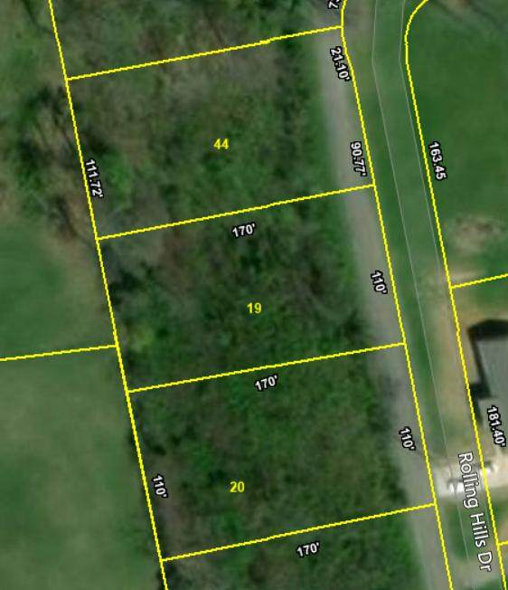 Lot 44 Rolling Hills Drive, Church Hill, TN 37642 (MLS #9910455) :: Tim Stout Group Tri-Cities
