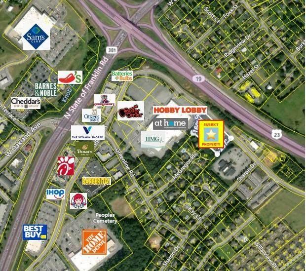 Tbd Peoples St, Johnson City, TN 37604 (MLS #9921324) :: Red Door Agency, LLC