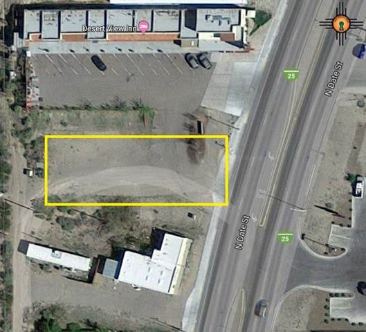 90x Date, Truth Or Consequences, NM 87901 (MLS #20194489) :: Rafter Cross Realty