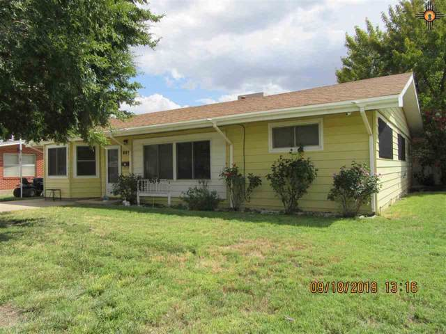 809 E Lincoln, Hobbs, NM 88240 (MLS #20194687) :: Rafter Cross Realty
