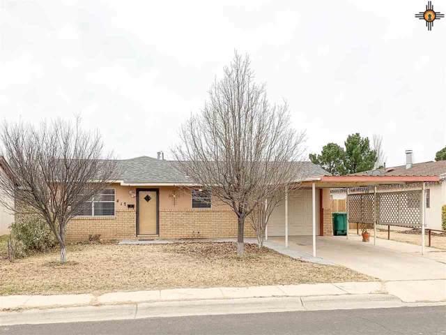 417 W Avenue H, Lovington, NM 88260 (MLS #20195941) :: Rafter Cross Realty