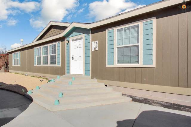 815 W Hillcrest Dr, Jal, NM 88252 (MLS #20196129) :: Rafter Cross Realty