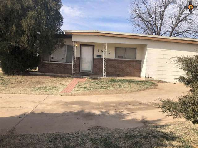 1403 N Breckon, Hobbs, NM 88240 (MLS #20200399) :: Rafter Cross Realty