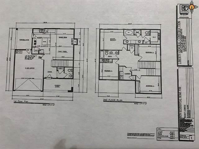 2405 W Bullock Ave, Artesia, NM 88210 (MLS #20203612) :: Rafter Cross Realty