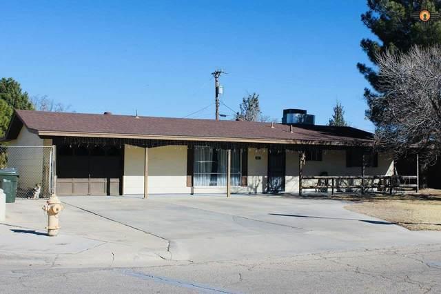 1426 N Country Club Circle, Carlsbad, NM 88220 (MLS #20205752) :: Rafter Cross Realty