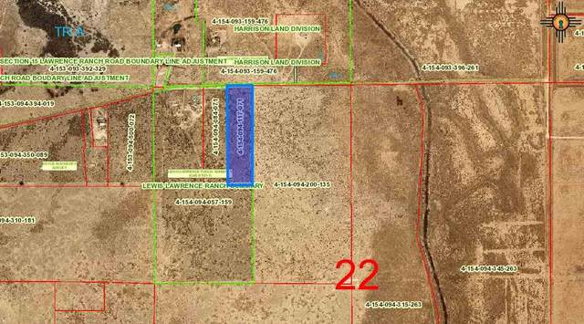 W OF 331 Lawrence Ranch Road, Lake Arthur, NM 88253 (MLS #20210011) :: Rafter Cross Realty