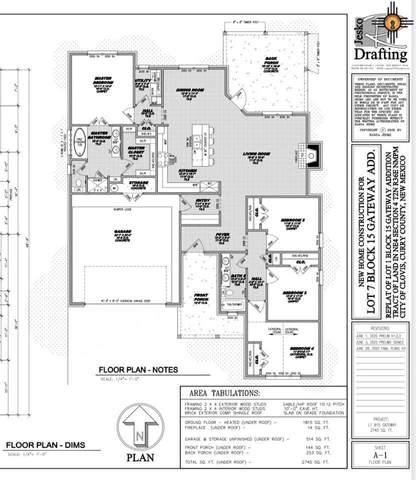 3408 Northglen, Clovis, NM 88101 (MLS #20210083) :: Rafter Cross Realty