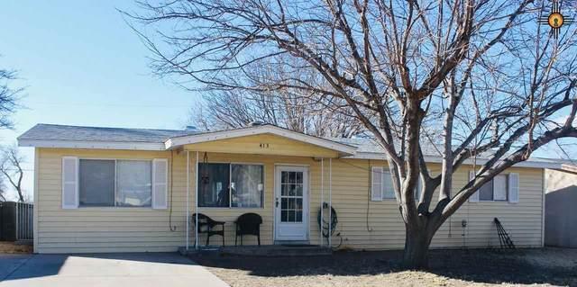 413 Juanita Street, Carlsbad, NM 88220 (MLS #20210291) :: Rafter Cross Realty