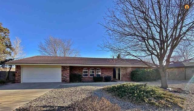 1825 Fairway Terrace, Clovis, NM 88101 (MLS #20210634) :: Rafter Cross Realty