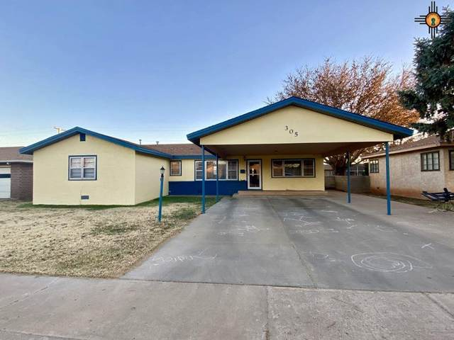 305 W Plains, Clovis, NM 88101 (MLS #20210698) :: Rafter Cross Realty