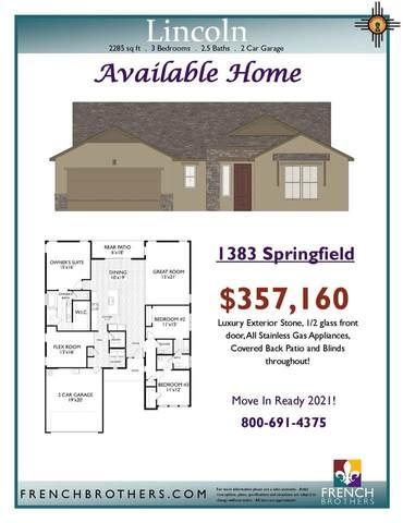 1383 Springfield, Artesia, NM 88210 (MLS #20210855) :: Rafter Cross Realty