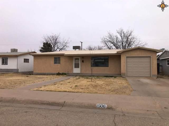 1506 W James Ave, Artesia, NM 88210 (MLS #20211668) :: Rafter Cross Realty