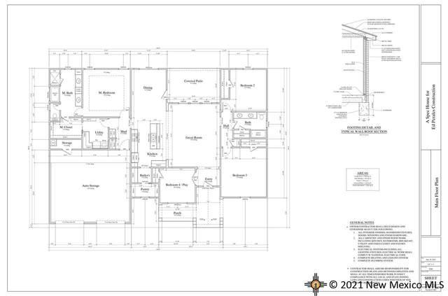 3617 Woodlark Rd, Clovis, NM 88101 (MLS #20214179) :: The Bridges Team with Keller Williams Realty