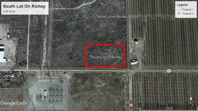 South Lot E Richey Ave., Artesia, NM 88210 (MLS #20214786) :: The Bridges Team with Keller Williams Realty