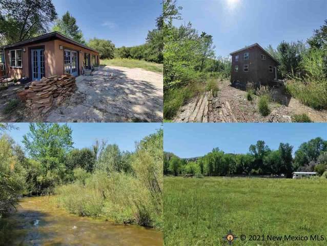 151A & 151B Camino De Los Ranchos, CHIMAYO, NM 87752 (MLS #20214974) :: The Bridges Team with Keller Williams Realty