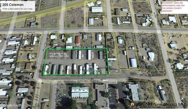 205 Coleman, Truth Or Consequences, NM 87901 (MLS #20215400) :: The Bridges Team with Keller Williams Realty