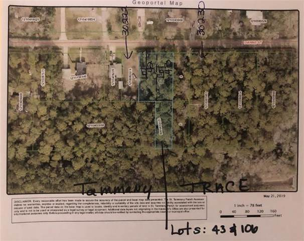 LOTS 43 & 106 Diane Street, Lacombe, LA 70445 (MLS #2204998) :: Crescent City Living LLC