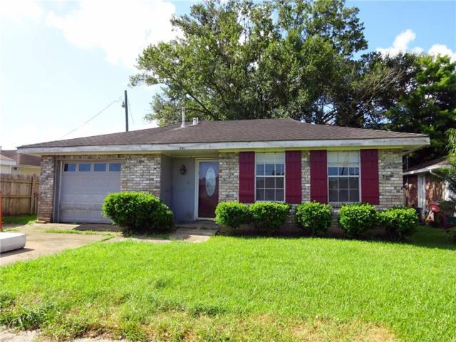 241 Kilgore Place, Kenner, LA 70065 (MLS #2215393) :: Top Agent Realty