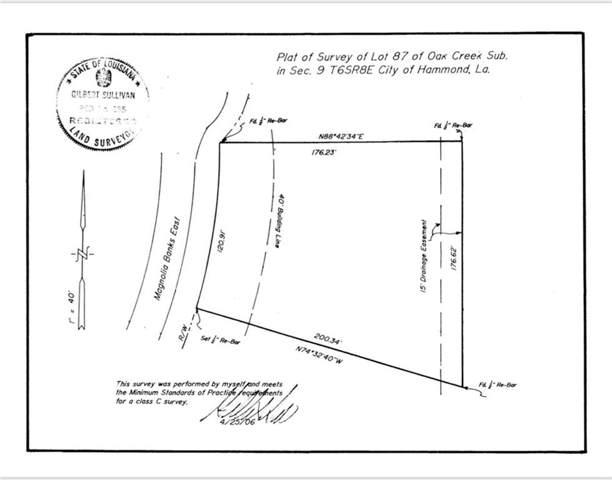 19152 Magnolia Banks, Hammond, LA 70401 (MLS #2224459) :: ZMD Realty