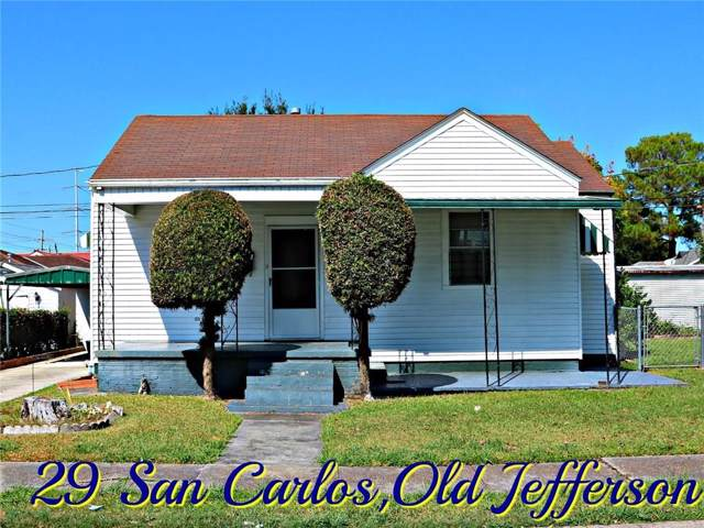 29 San Carlos Avenue, Jefferson, LA 70121 (MLS #2226722) :: Watermark Realty LLC