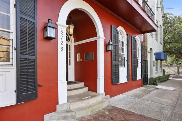 2726 Prytania Street #7, New Orleans, LA 70130 (MLS #2230985) :: Crescent City Living LLC