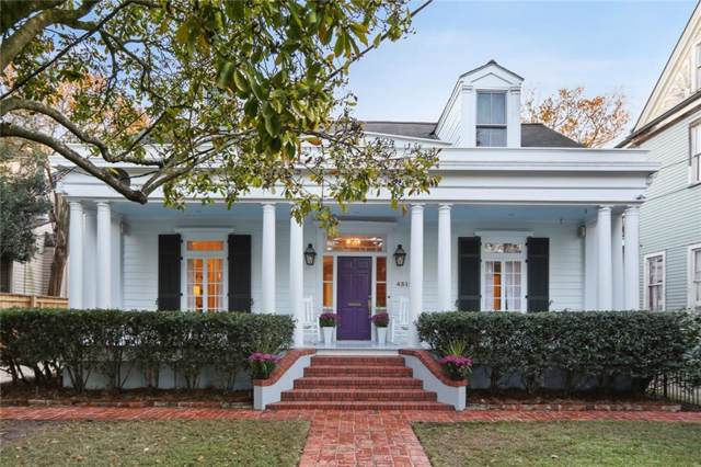 4312 Coliseum Street, New Orleans, LA 70115 (MLS #2231535) :: Top Agent Realty
