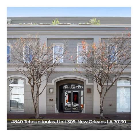840 Tchoupitoulas Street #309, New Orleans, LA 70130 (MLS #2233240) :: Inhab Real Estate
