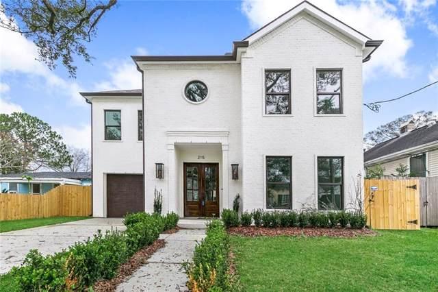 215 Metairie Heights Avenue, Metairie, LA 70001 (MLS #2239115) :: Inhab Real Estate