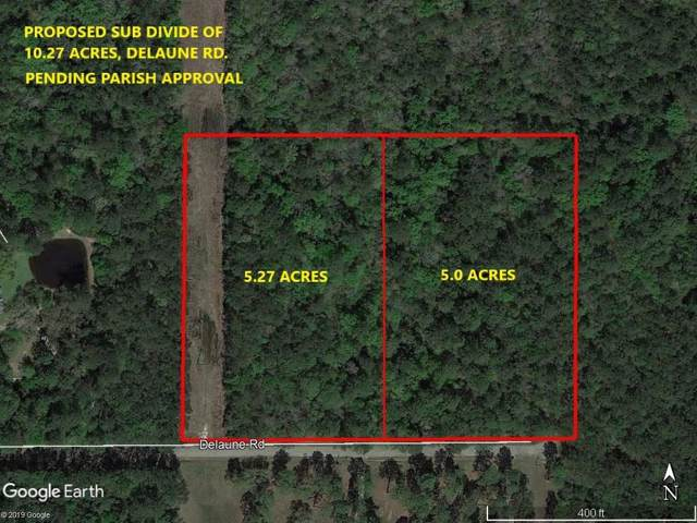 5.27 Acres Delaune Road, Folsom, LA 70437 (MLS #2239238) :: Top Agent Realty