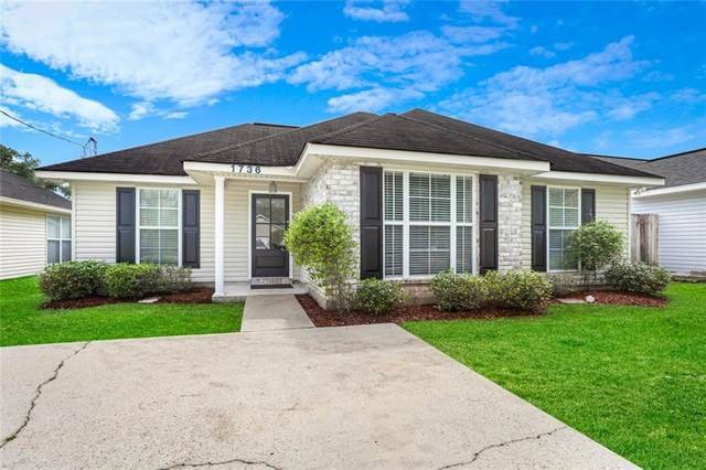 1736 Nellie Drive, Slidell, LA 70458 (MLS #2253616) :: Top Agent Realty