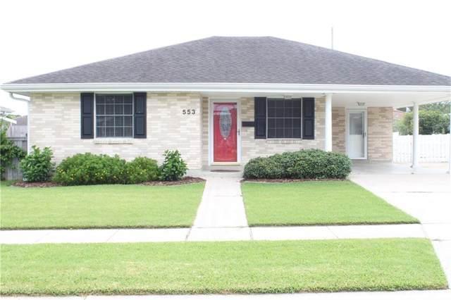 553 Dunkirk Avenue, Terrytown, LA 70056 (MLS #2262422) :: Crescent City Living LLC