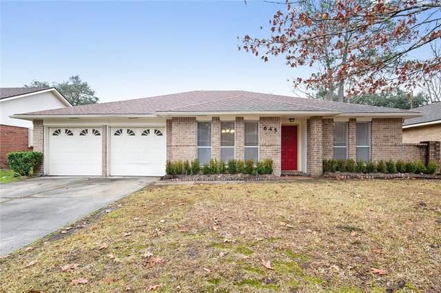 645 Ridgewood Drive, Mandeville, LA 70471 (MLS #2264196) :: Robin Realty