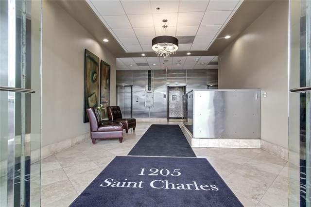 1205 St Charles Avenue #912, New Orleans, LA 70130 (MLS #2264311) :: Amanda Miller Realty