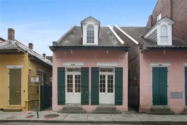 418 Burgundy Street #6, New Orleans, LA 70112 (MLS #2273665) :: Reese & Co. Real Estate