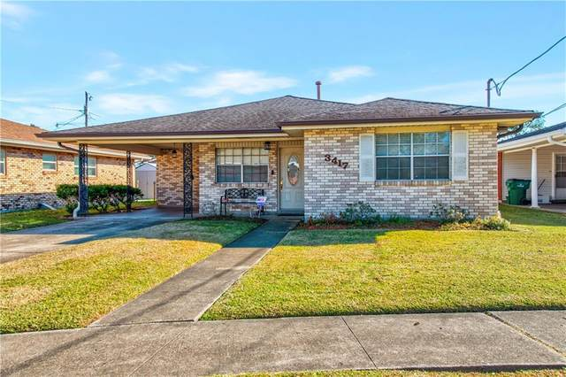3417 N Woodlawn Avenue, Metairie, LA 70006 (MLS #2279950) :: The Sibley Group